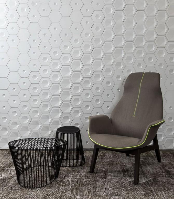 Cimentício - Solarium - TerraTile - Revestimendo 3D