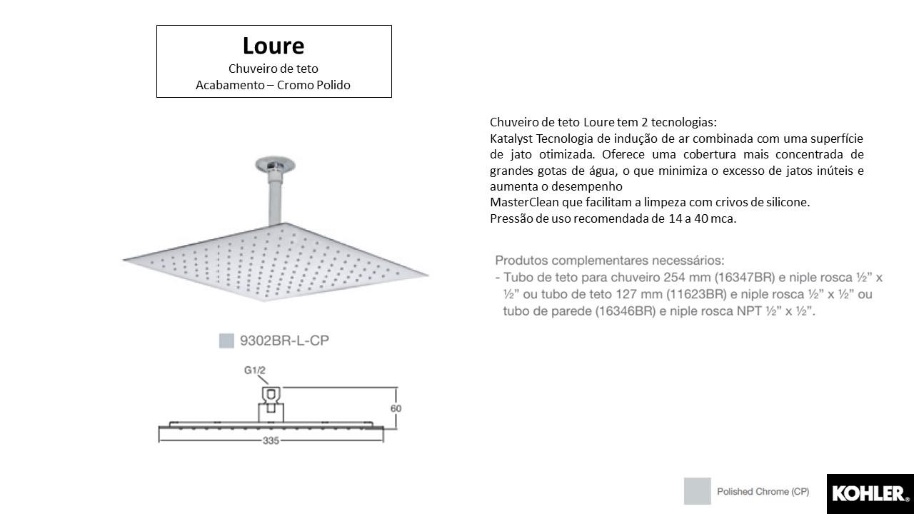 Chuveiro Loure - Kohler - TerraTile