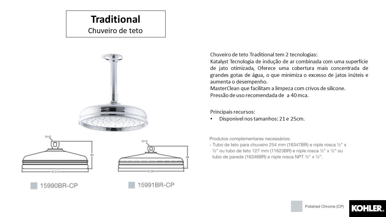 Chuveiro Traditional - Kohler - TerraTile