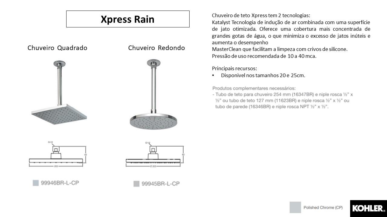 Chuveiro Xpress Rain - Kohler