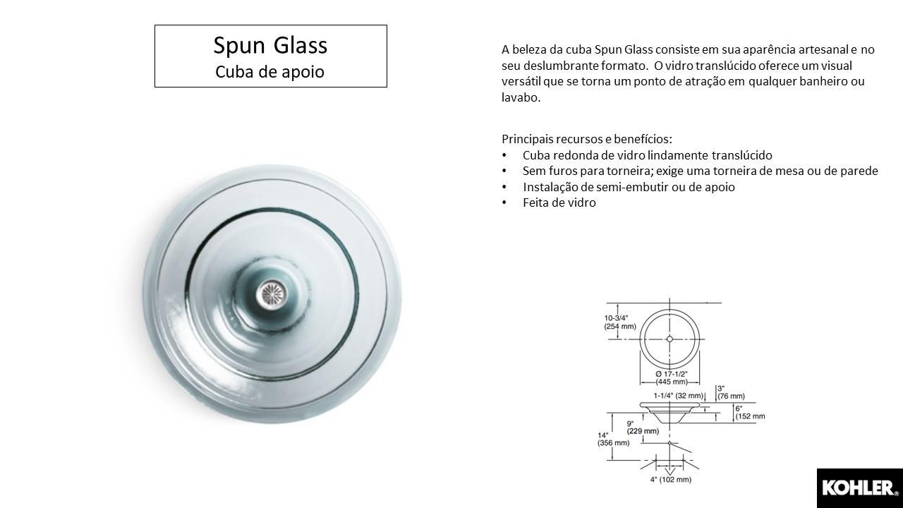 Cuba Spun Glass- Louças e Metais - TerraTile