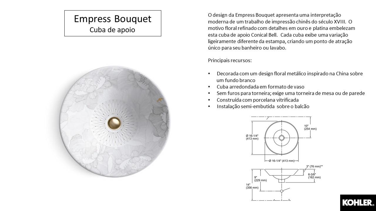 Cuba Empress Bouquet - Louças e Metais - TerraTile