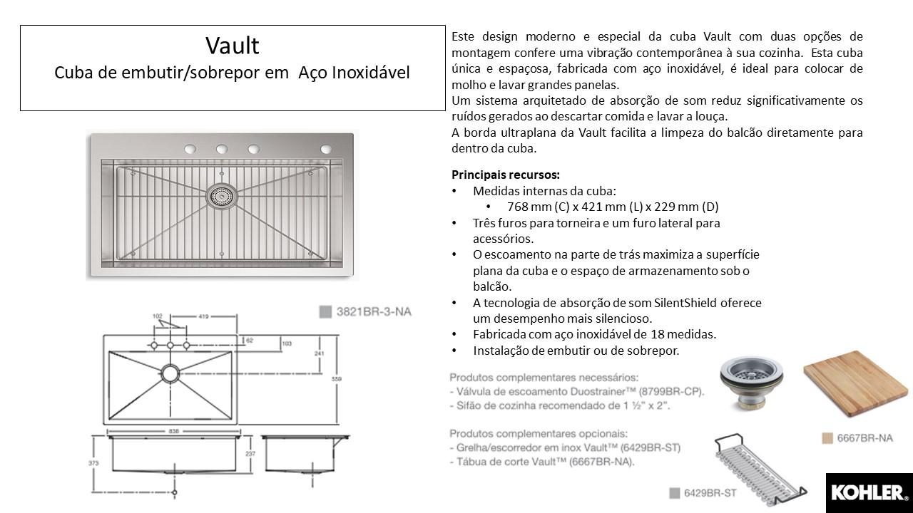 Cuba Vault- Louças e Metais - TerraTile