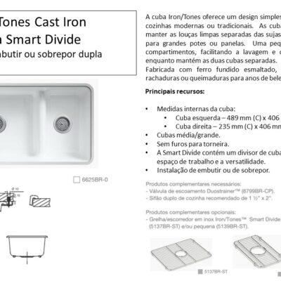 Cuba Iron Tones Cast Iron - Louças e Metais - TerraTile