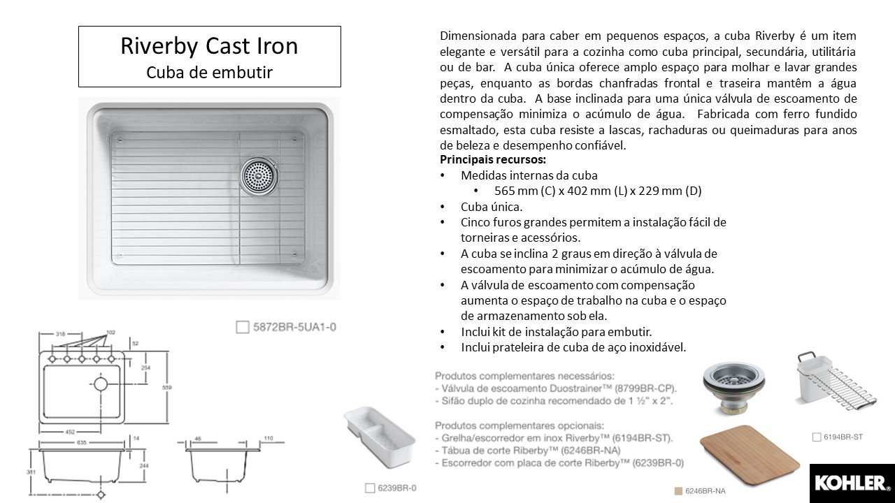 TerraTile – Riverby Cast Iron – Kohler